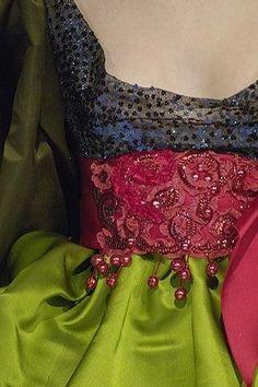 notordinaryfashion:  Christian Lacroix Haute Couture - Details
