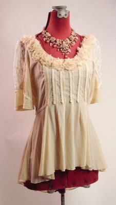 womens recycled victorian couture - Google Search