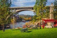 Monroe St Bridge, Spokane WA
