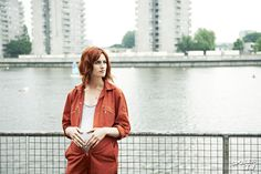 #misfits #abbey #redhead #pregnant #powers Natasha O'keeffe, Misfits, Redheads, Raincoat, Blazer, Jackets, Bump, Films, Harry Potter