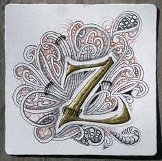 Zentangle alpha