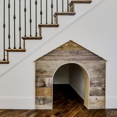 Under Stairs Dog House . Under Stairs Dog House . Under the Stairs Dog House Future House, Stair Decor, Wall Decor, Dog Rooms, House Goals, First Home, My Dream Home, Home Projects, Project Projects