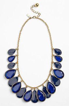 kate spade new york petal pusher bib necklace | Nordstrom