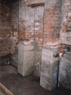 Traditional Underpinning :: Purkelly Foundation, Traditional, Building, Wall, Painting, Buildings, Painting Art, Walls, Paintings