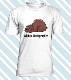 Wildlife Photographer  T-Shirts für Fotografen t-shirts for photographers