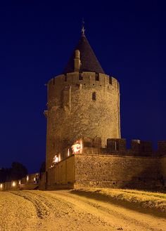 Carcassonne - A Medieval Walled City in The South of France