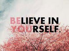 Creer en uno mismo