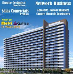 Oportunidade unica de um bom negócio. Ultimas unidades.  Network Business Tower   Espaço Cerâmica. Ultimas unidades salas com 54m² prontas  Contato: Melvi 11 99665-8373