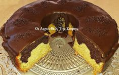 Νηστίσιμο κέικ πορτοκάλι σοκολάτα της Σόφης Τσιώπου! Food And Drink, Birthday Cake, Sweet, Kitchen Ideas, Desserts, Cakes, Candy, Tailgate Desserts, Deserts