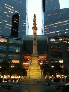 Columbus Circle, NYC, 2010; Photo: Philip M. Tusa.