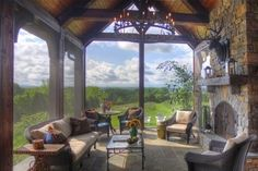 Screened Porch by louise