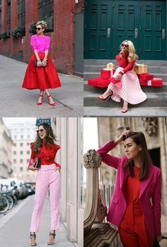 Pink Fashion, Colorful Fashion, Fashion 2020, Love Fashion, Womens Fashion, Casual Work Outfits, Classy Outfits, Chic Outfits, Fashion Outfits