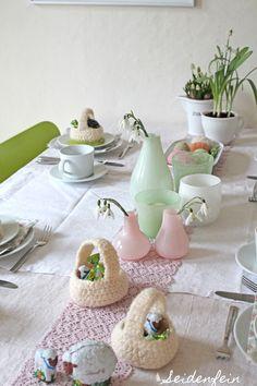 seidenfeins Blog vom schönen Landleben: süße Osterdeko  ! Easter decoration