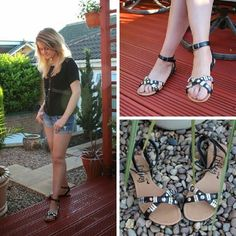 Fashion blogger Claire in a pair of #ShoeZone sandals Style Code: 19145 #fashionbloggeruk #fashion #blogger #style