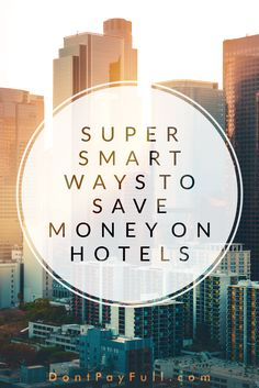 Holidays are great, but hotels are expensive. Luckily, there are some great ways to save on hotel costs, but you have to be 'in the know' to take advantage of many of them since nobody is going to offer them to you just like that. The list you'll see tight here should be the most complete compilation of all the hotel booking money-savers on the internet today – so bookmark this page and revisit it when you're planning your next vacation or business trip. #DontPayFull