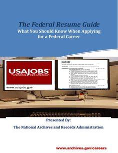 24 Best Federal Resume Images Resume Federal Resume Job Resume