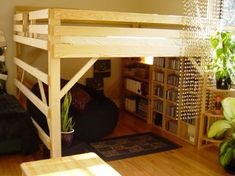 Adult Loft Bed Design: Adult Loft Bed With Storage ~ Bedroom Inspiration