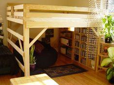 Adult Loft Bed Design: Adult Loft Bed With Storage ~ Bedroom Inspiration