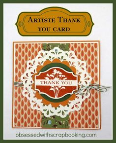 Close to My Heart, CTMH, Cricut. Artiste, videos, card, stamps