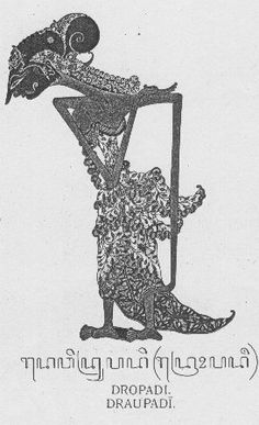 Dropadi, Drupadi, atau Draupadi (Sanskerta: द्रौपदी; Draupadī) adalah salah satu tokoh dari wiracarita Mahabharata. Ia adalah puteri Prabu Drupada, raja di kerajaan Panchala. Pada kitab Mahabharata versi aslinya, Dropadi adalah istri para Pandawa lima semuanya. Tetapi dalam tradisi pewayangan Jawa di kemudian hari, ia hanyalah permaisuri Prabu Yudistira saja.