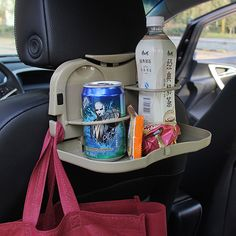 Hot Selling car folding table car cup holder Car Back Seat Table  Holder Stand Desk Auto Drink Food Cup Tray
