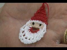 Programa Arte de Viver - Papai Noel de Crochê (PASSO A PASSO) - artedeviver.com - YouTube
