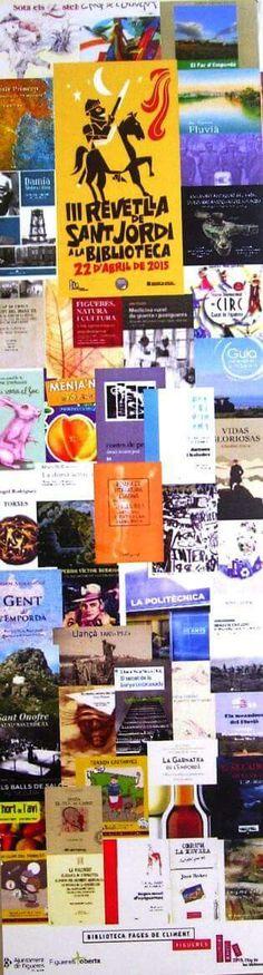 País de Xauxa Punt de Llibre. III Revetlla Literària. Biblioteca de Figueres. Sant Jordi 2015 #paisdexauxa #revetllaliteraria #figueres