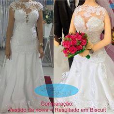 Comparação vestido da noiva e o resultado na noivinha em biscuit 😍😉 ❤️ #noivinhospersonalizados ❤️ #wedding  #vestidodenoiva  #biscuit  #instanoivas  #casamento #amor  #love #buquepink  #cerveja # topodebolo #noivinhosdiferente  #noivinhostopodebolo  #noivinhosdebiscuit  #vestidonoiva    💌orçamentos: caraarteembiscuit@yahoo.com.br ou mensagem inbox na página https://facebook.com/caraarteembiscuit