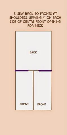 The Dangerous Mezzo: Plu size DIY Kimono, sewing without a pattern Source by schwanherz cardigan Kimono Sewing Pattern, Sewing Patterns Free, Clothing Patterns, Sewing Hacks, Sewing Tutorials, Sewing Crafts, Sewing Projects, Gilet Kimono, Kimono Cardigan