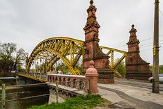 Most Zwierzyniecki (Paßbrücke), Wroclaw (Breslau), Poland