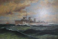 Hr.Ms. De Ruyter (1928), vanaf 1933 Hr.Ms. Van Ghent