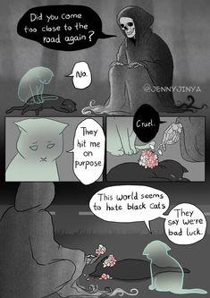 Artist Behind 'Good Boy' Shares New Comic Featuring A Black Cat Ahh. - Artist Behind 'Good Boy' Shares New Comic Featuring A Black Cat Ahh, the onions! Comics Story, Bd Comics, Funny Comics, Comic Cat, Cat Memes, Funny Memes, Diy Funny, Cartoon Memes, Black Cat Comics