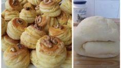 Chléb, briošky, rohlíčky – Snadné Vaření Recepty Doughnut, Pancakes, Garlic, Tacos, Vegetables, Breakfast, Desserts, Food, Basket