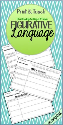 Teach Figurative Language in ANY Text
