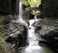 Bash Bish Falls.  (near Skaneateles, NY. Finger Lakes region.)