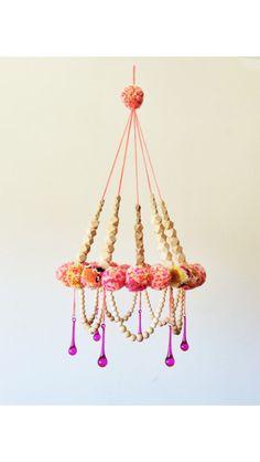 Pom Pom chandelier