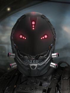 ArtStation - Sci-Fi Helmet Designs, Marcel Former