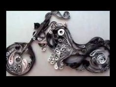 Unique Quilling Art | Silk Thread | Paper Quilling | Jhumka | Earring | ...