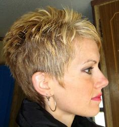 For when my hair starts to grow back in. Like this. - - For when my hair starts to grow back in. Like this. Short Pixie Haircuts, Cute Hairstyles For Short Hair, Short Hair Cuts For Women, Pixie Hairstyles, Curly Hair Styles, Classic Hairstyles, Medium Hairstyles, Woman Hairstyles, Short Cuts