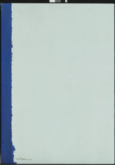 Barnett Newman: Right Here, 1954