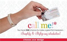 call me cards : erin condren    #erincondren    Gorgeous!!  THESE make a statement, and first impression.