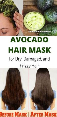 21 Awesome Ways To Use Avocado Hair Mask For Dry And Damaged Hair