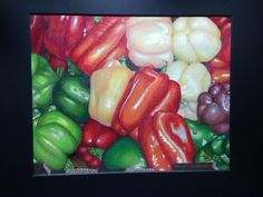 Prismacolors on mixed media paper by Sandy Banker