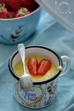 JA U KUHINJI...: Hrana za najmlađe: Domaći puding od vanile