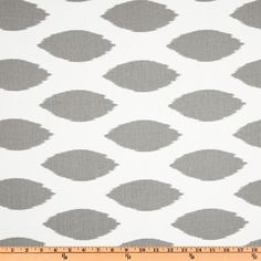 Items similar to Ikat Fabric- Premier Prints Chipper Storm Grey and White Ikat Fabric by the Yard- Multiple Yardage- SHIPS FAST- Designer Home Decor on Etsy Ikat Curtains, Ikat Fabric, Drapery Fabric, Cotton Fabric, Bedroom Curtains, Pillow Fabric, Premier Fabrics, Premier Prints, Flats