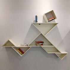 Tangram Bookshelf White