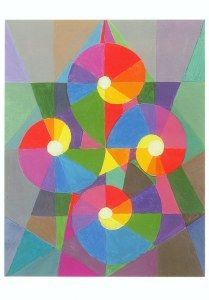 Itten Johannes; Vier Spiralen , 1967