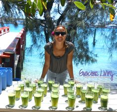 LET ME FEED YOU CLEANSING, YUMMY JUICES & FOODS! Gracious Living 4 Day Yoga and Food Cleansing Retreat:  Paradise Island, BAHAMAS (May 23 - 26, 2013)