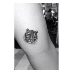 A tiger tattoo that I actually wouldn't mind getting. Except bigger and a different placement