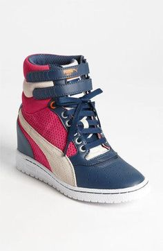a8b8f309060 Puma Sky Wedge Sneaker.. I m in love with these Puma Sneakers